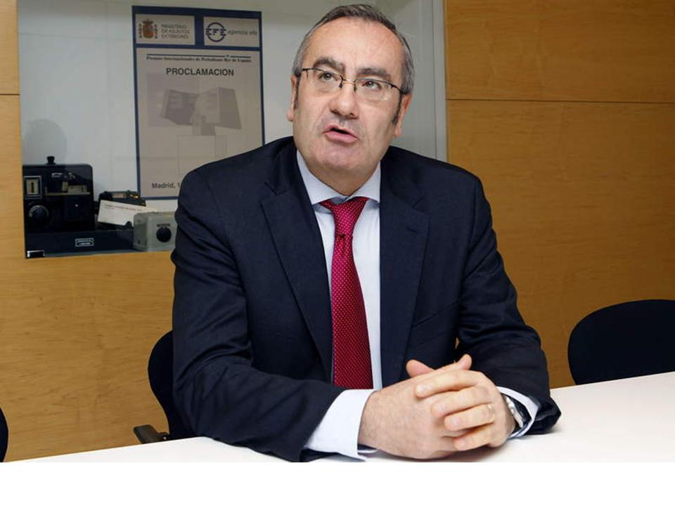 Resultado de imagen de José Llorca como presidente de Puertos del Estado