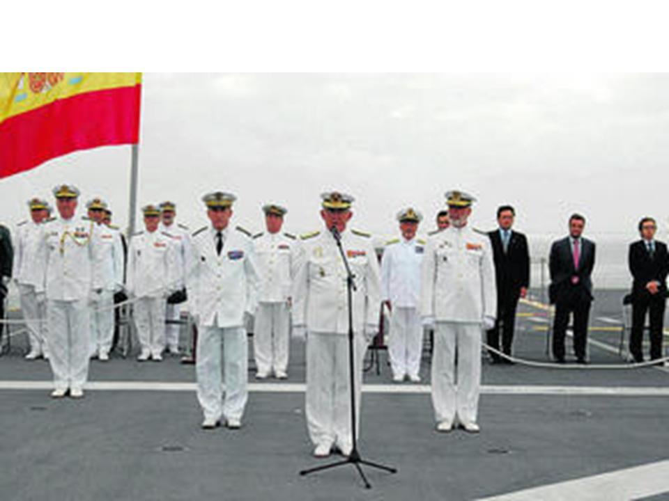 La armada espa ola asume el mando de la fuerza mar tima for Arquitectura naval e ingenieria maritima